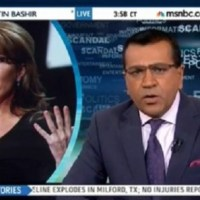 Martin Bashir and Sarah Palin