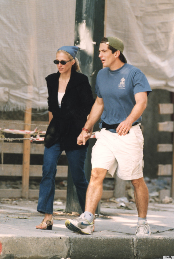John F Kennedy Jr Was So Dreamy He Made Questionable Trends Look Cool  HuffPost