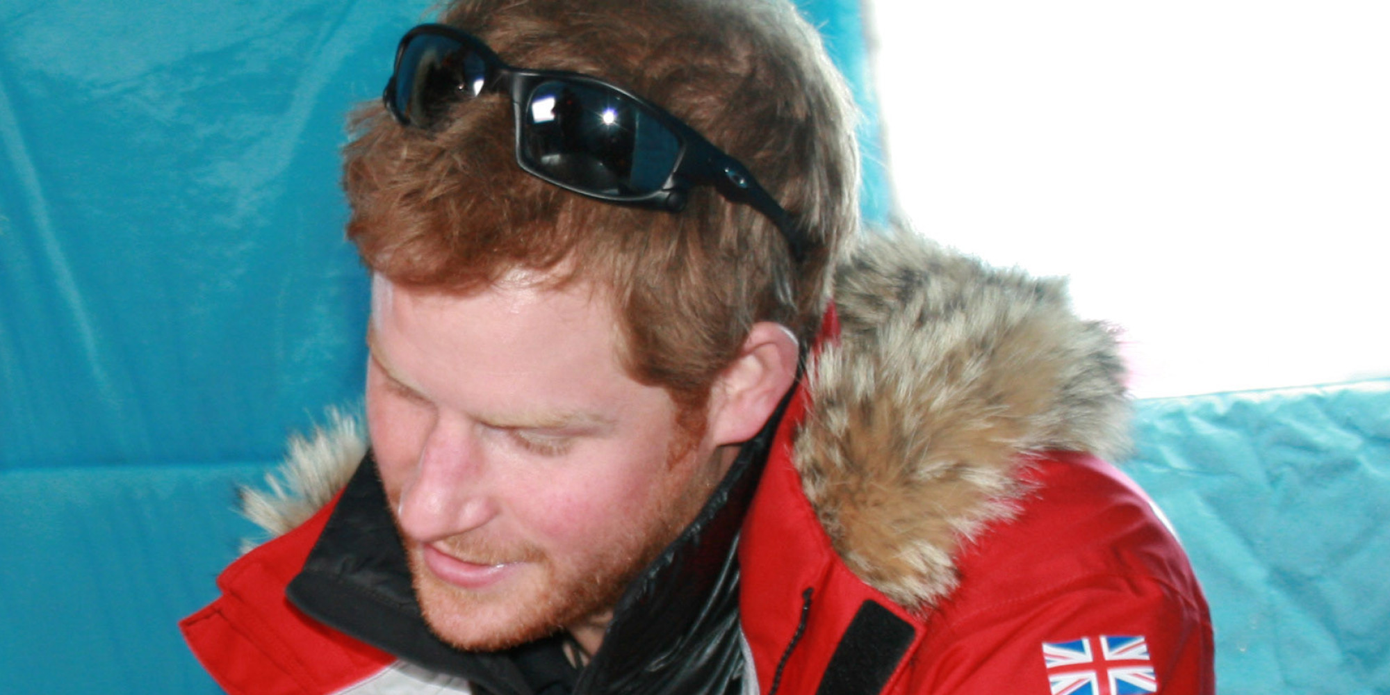 Prince Harrys Beard Comes Out In Full Force On South Pole