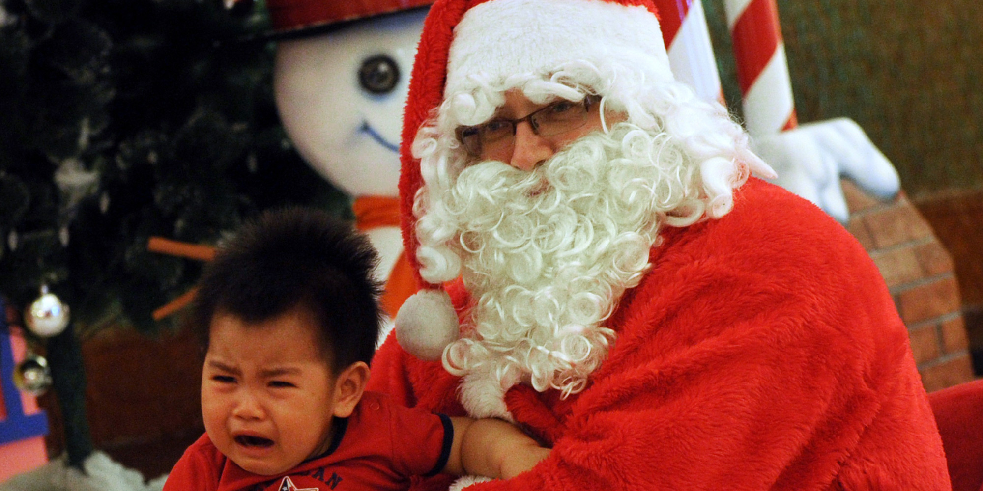 Mall Santa Legally Changed His Name To Santa A Claus VIDEO  HuffPost