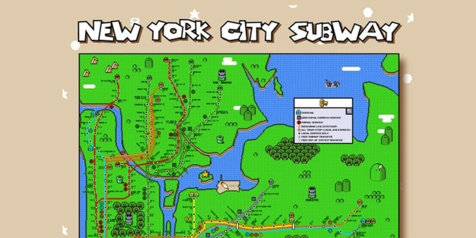 new york city subway diagram current transformer wiring the map 39super mario world 39 style