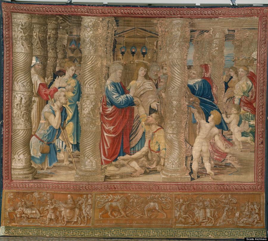 Raphael Vatican Paintings of Jesus