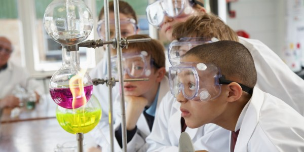 School Science Project Terribly Wrong Hospitalizing