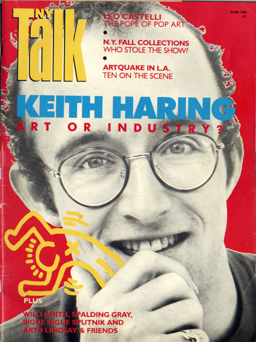 Keith Haring' Album Covers T-shirts And View