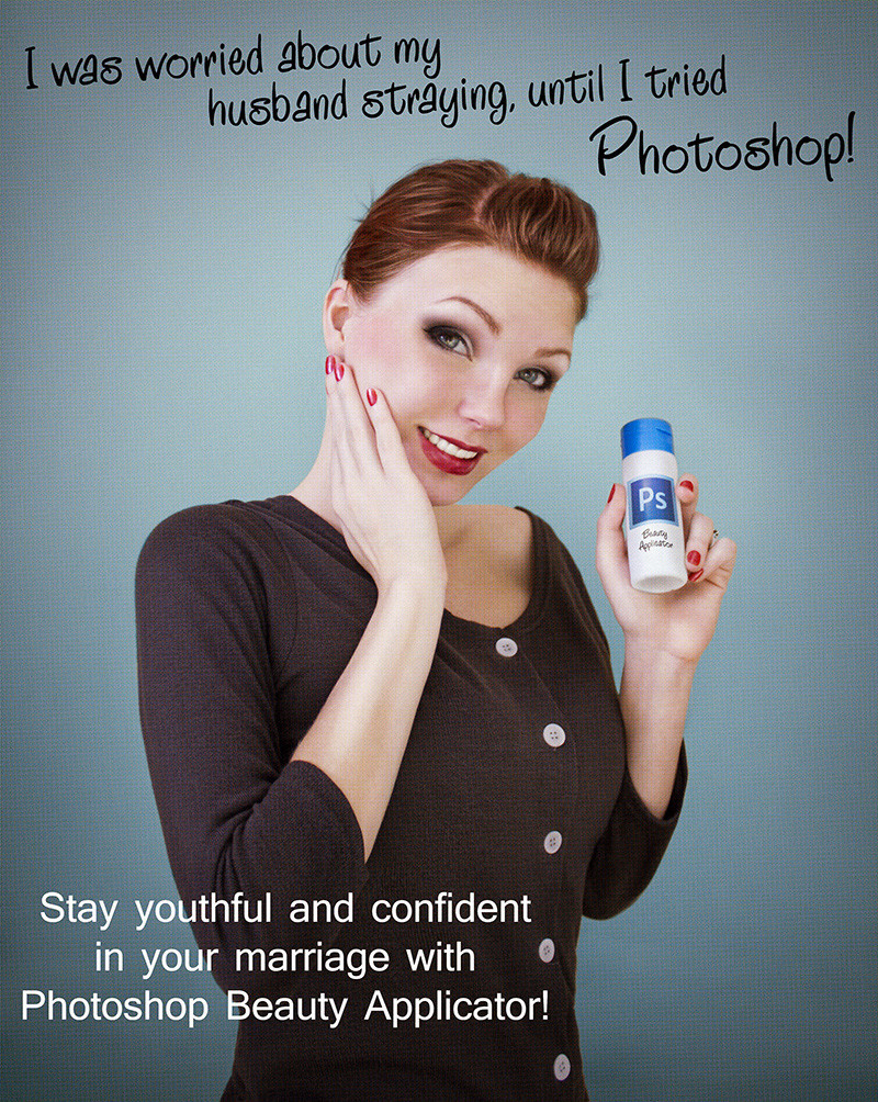 photoshop ads
