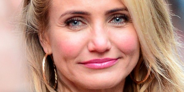 Cameron Diaz Wears Makeup In Instagram
