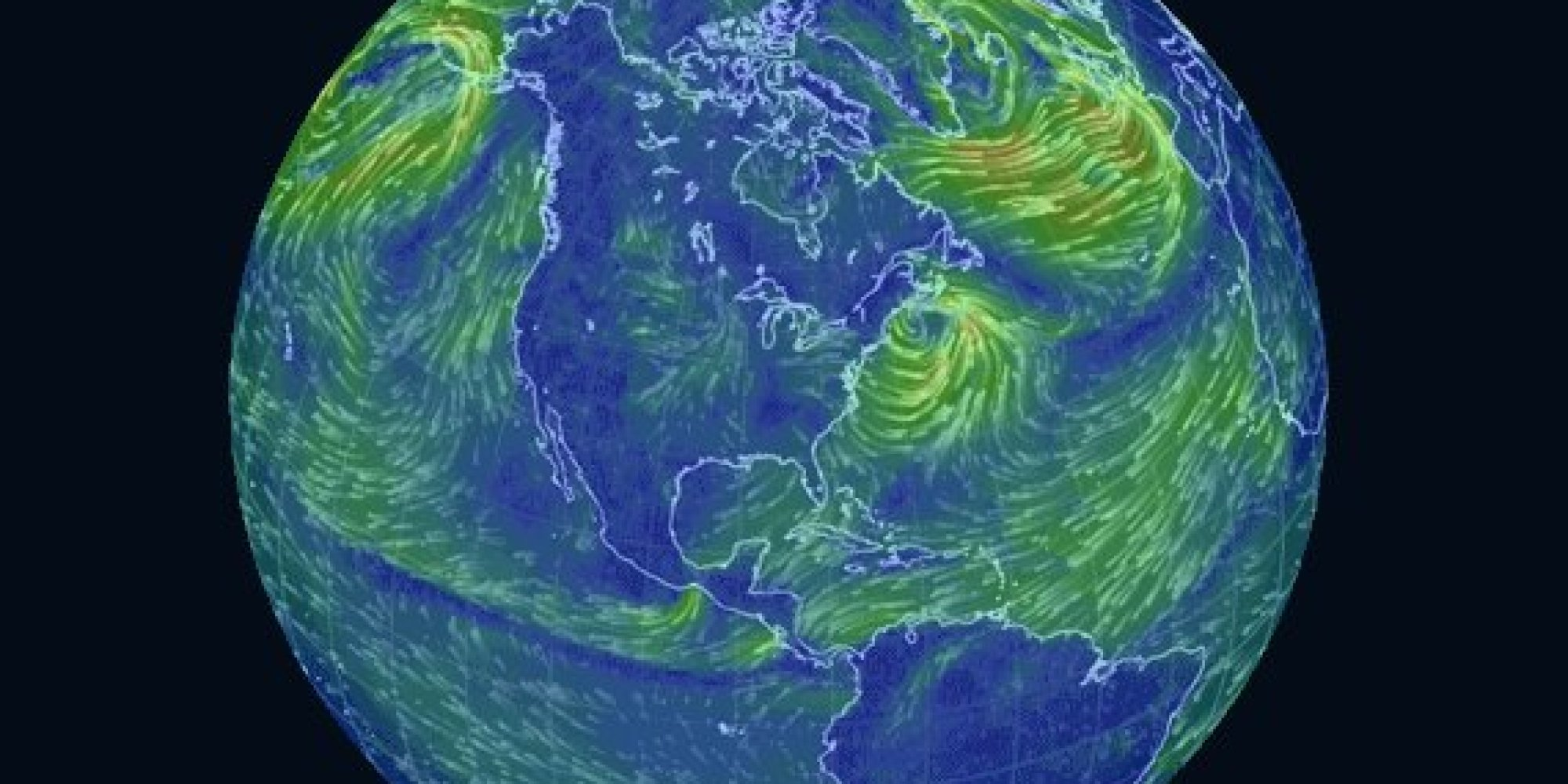 global wind patterns diagram square d wiring this trippy map of is a massive time
