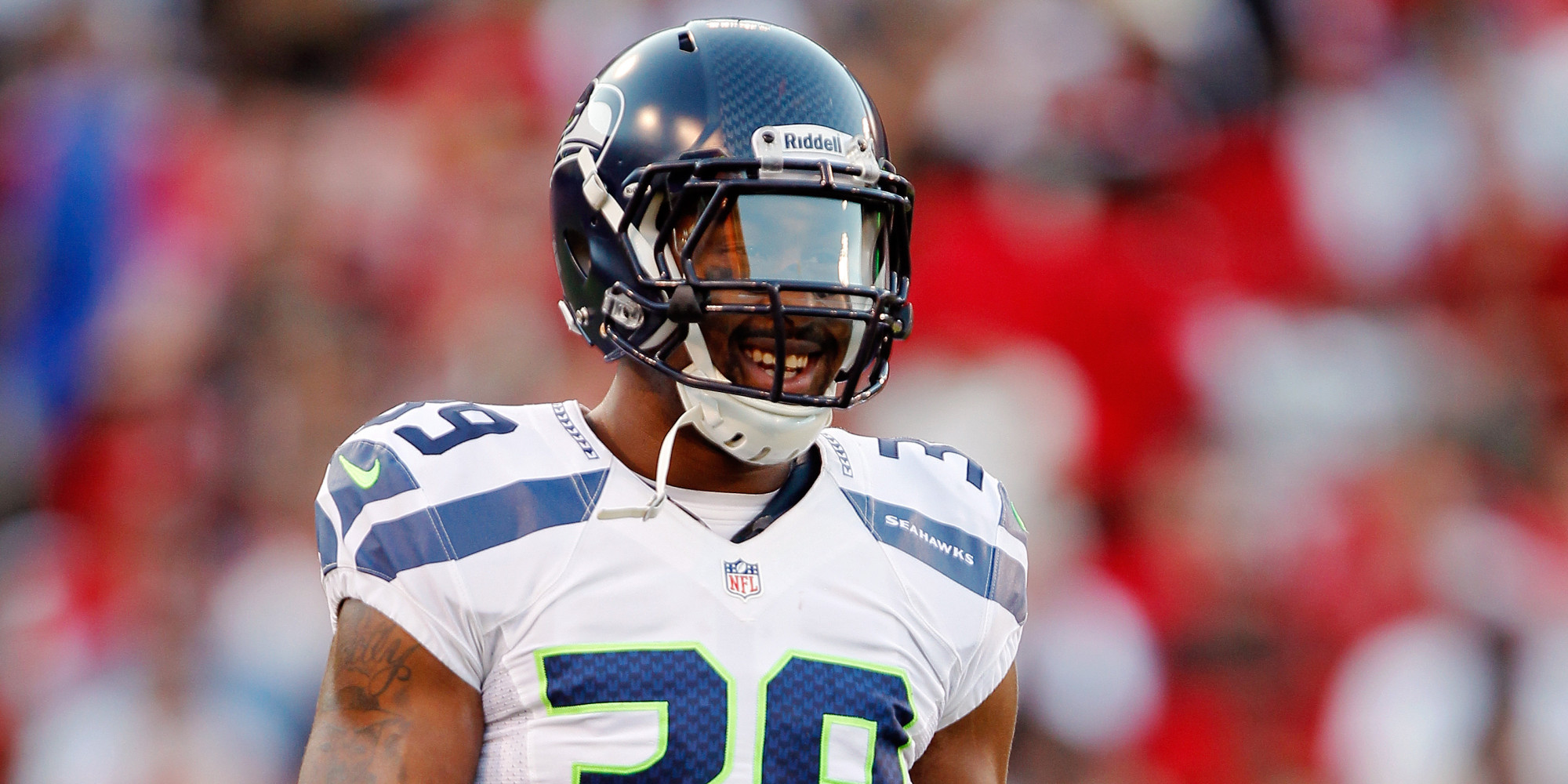 Brandon Browner of the Seattle Seahawks