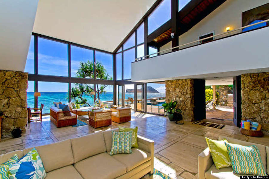 cheap living room suites modern for small spaces obama's hawaii vacation home and the luxury rentals of ...