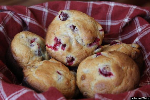 cranberryorange muffins