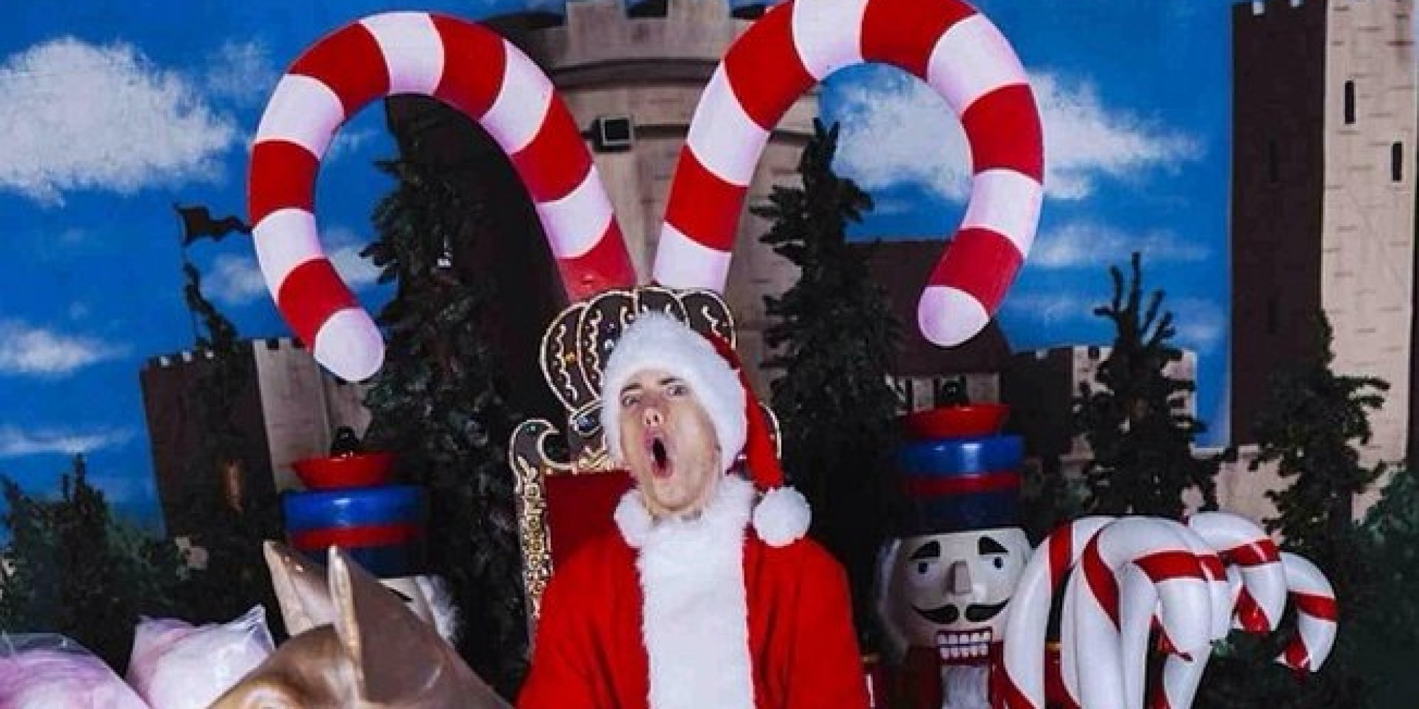 Eminems Take On Christmas Is Exactly What Youd Expect