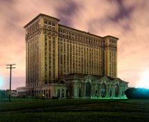 Abandoned Buildings Detroit Michigan