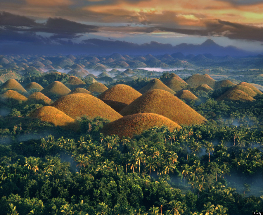 chocolate hills philippenes