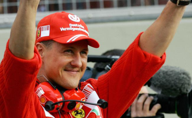 Michael Schumacher Showing Moments Of Consciousness Huffpost Uk