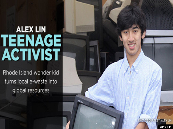 Alex Lin: 16-Year-Old Activist Turned 300000 Pounds Of ...