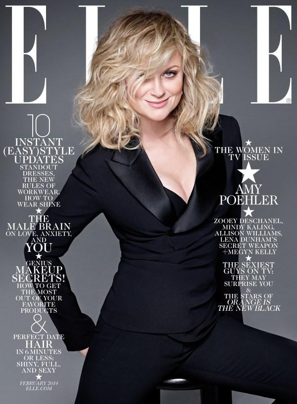 Amy Poehler Elle Magazine