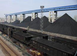 china coal production