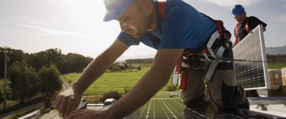 california solar energy doubled