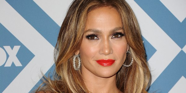 Jennifer Lopez Wows In Leather Dress Promoting