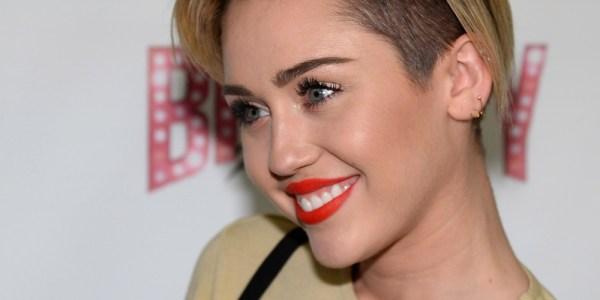 Miley Cyrus Debuts Bowl-cut In Los Angeles