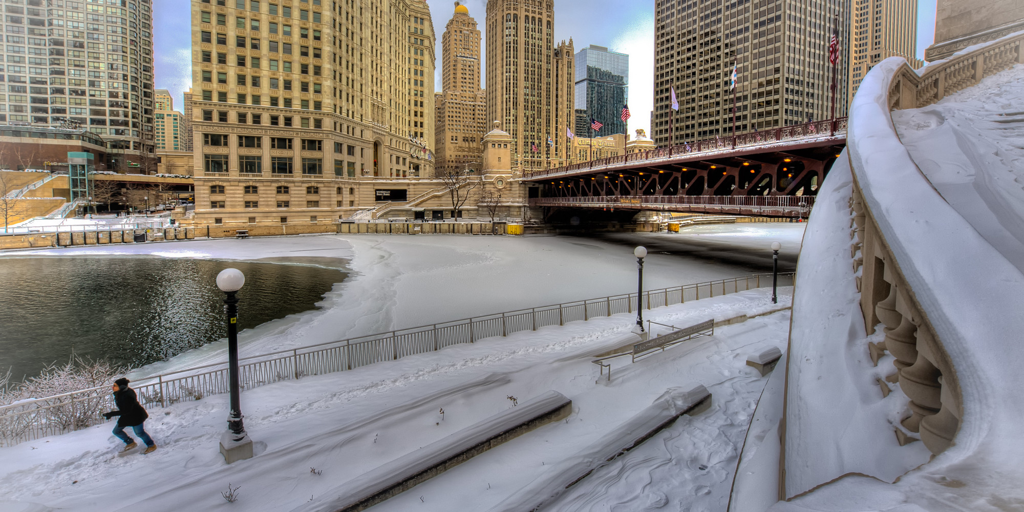 Chicago Snow Arctic Cold Returning Up To 5 Inches In Areas Saturday Bitter Temps Next Week