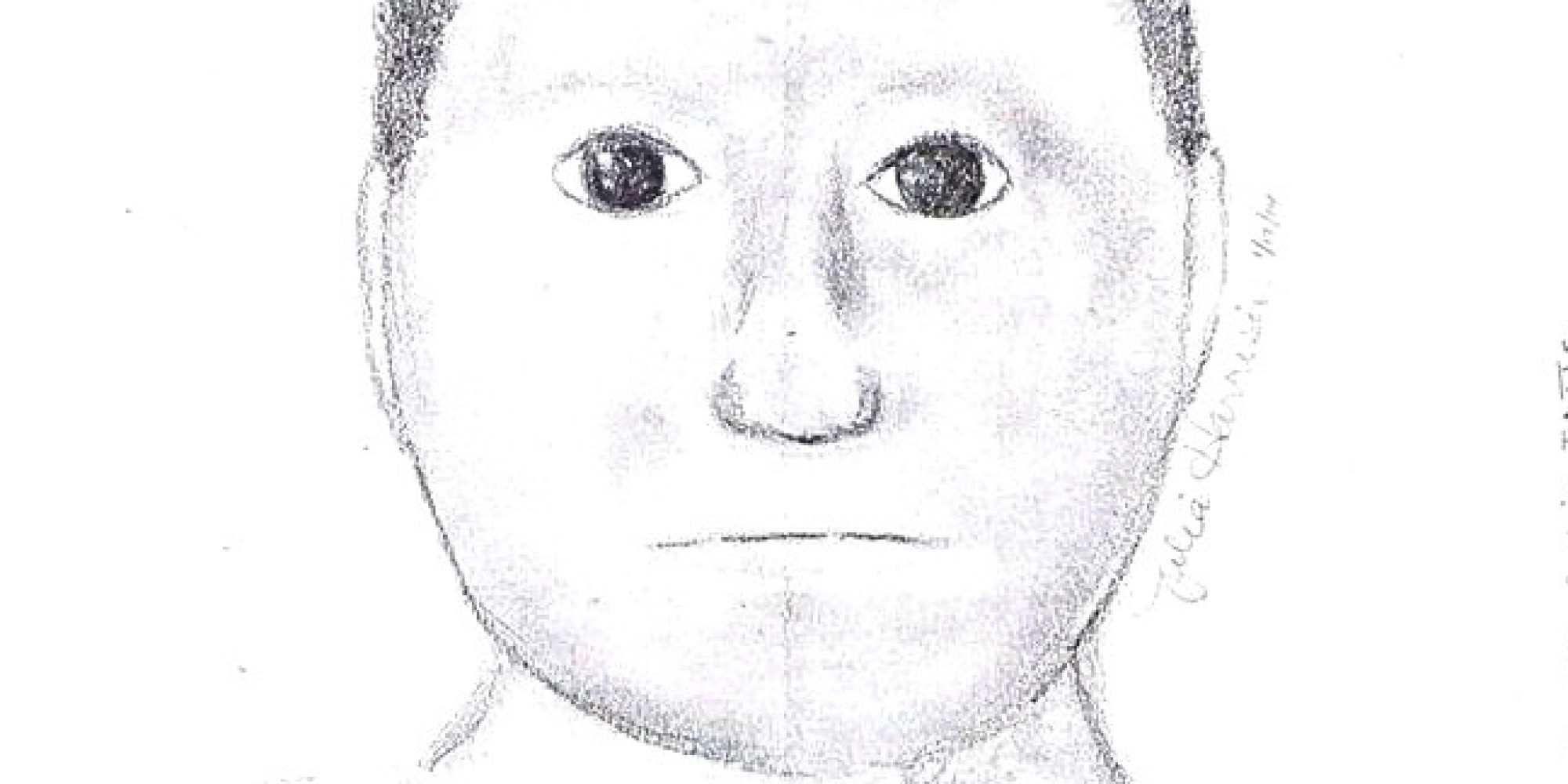 Worst Police Sketch Ever? Texas Armed Robbery Suspect's