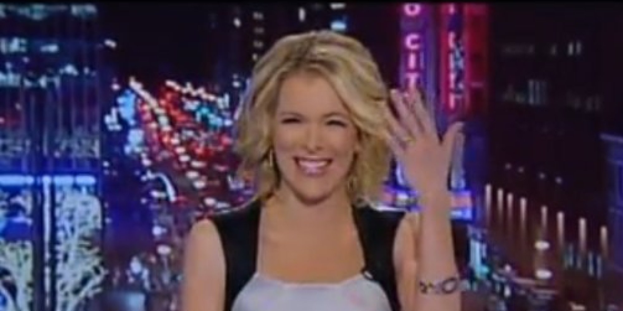 Megyn Kelly Bursts Out Laughing While Talking About