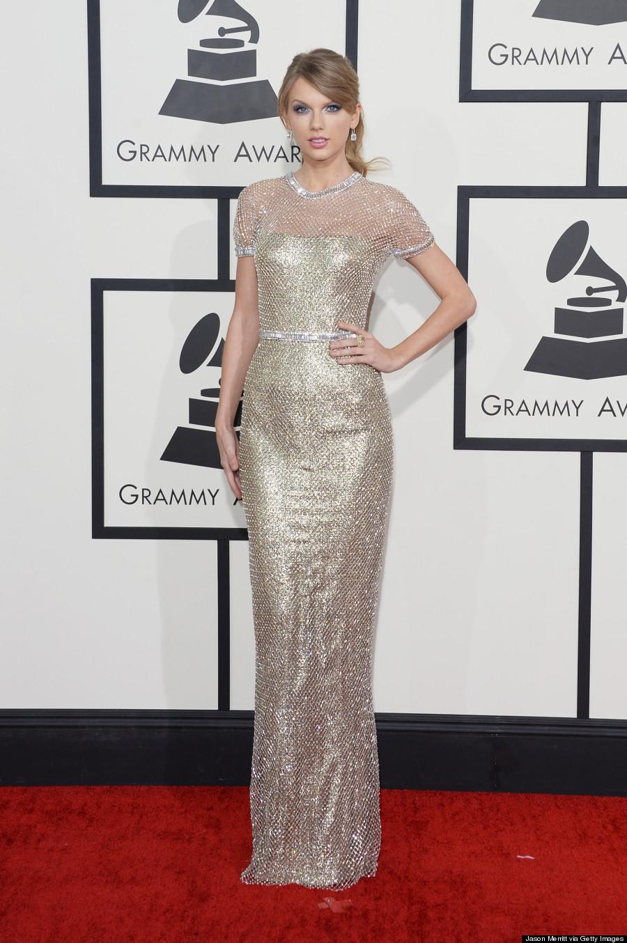 Taylor Swift Grammy 2014 Dress