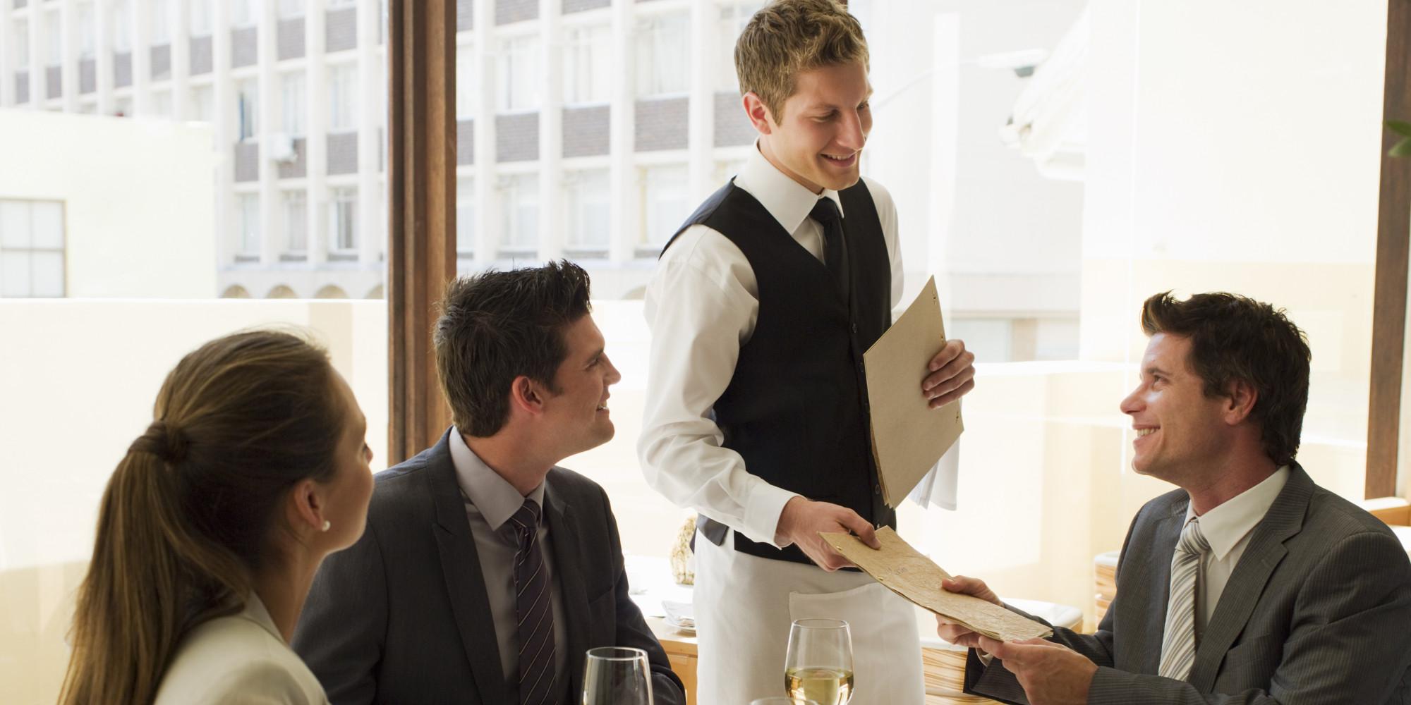 Le Service Du Repas Au Restaurant Limportance Des Mots