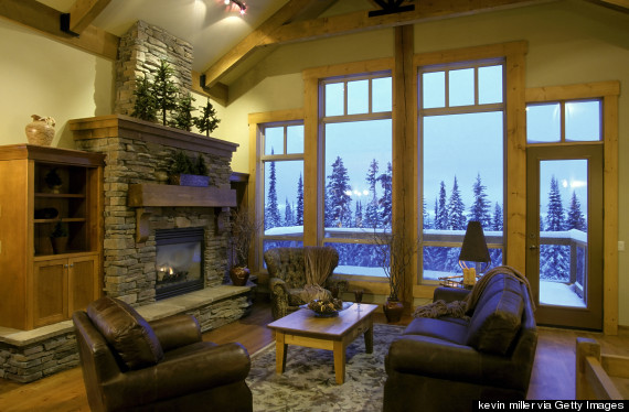 How To Make Your Home Feel Like A Luxe Ski Lodge HuffPost