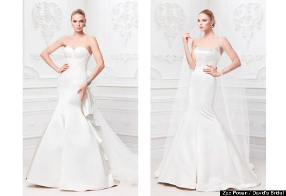 Zac Posen Unveils Wedding Dress Line For David's Bridal