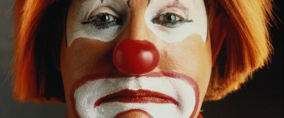 Clown Sad