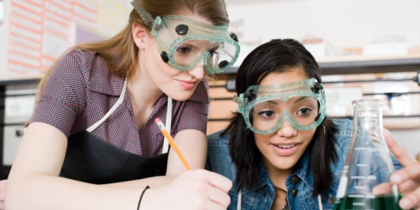 High School Students Science
