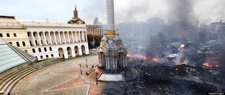 Image result for maidan before and after