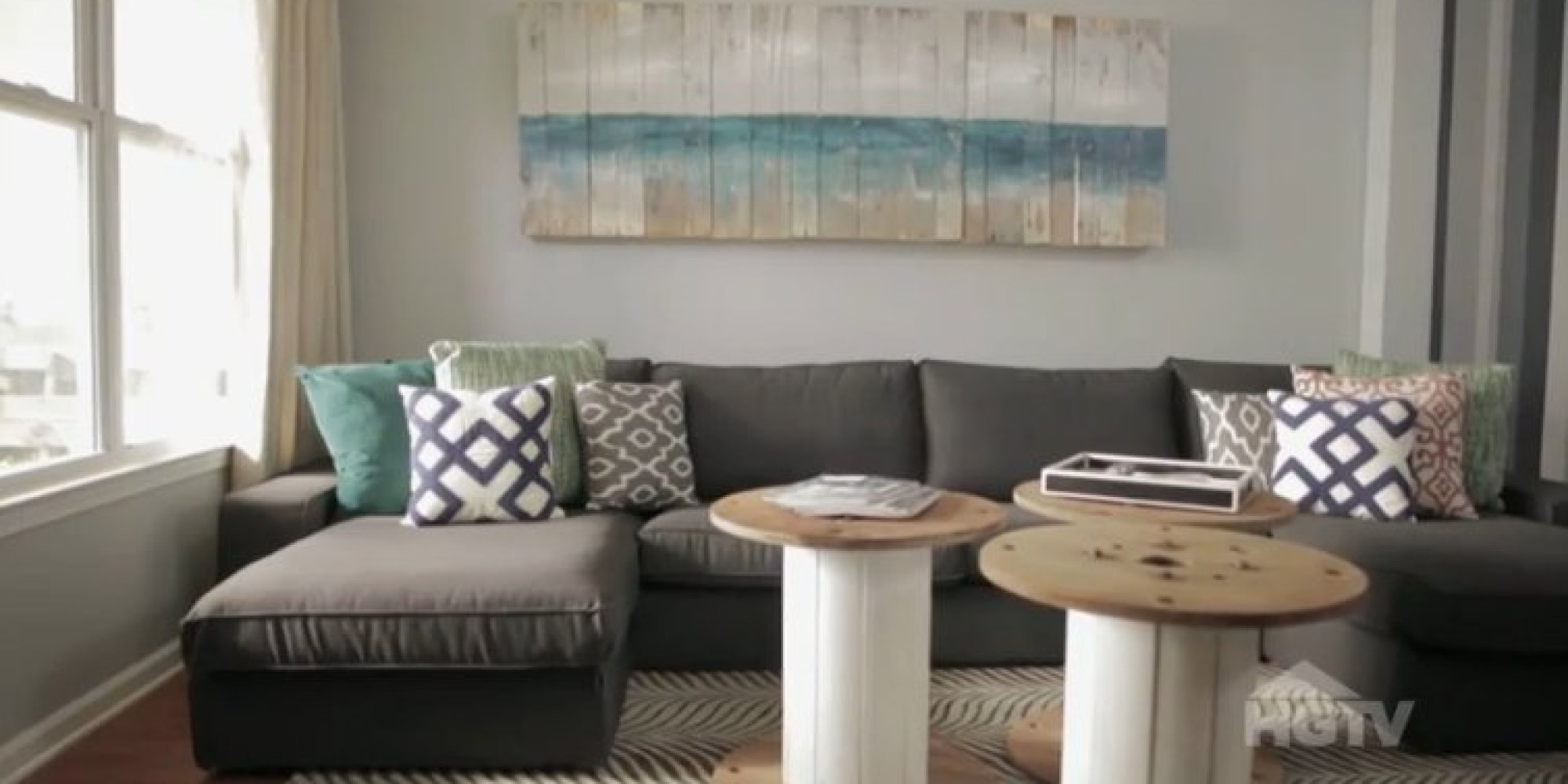 Turns Out You Can Do A Living Room Makeover For Under 500