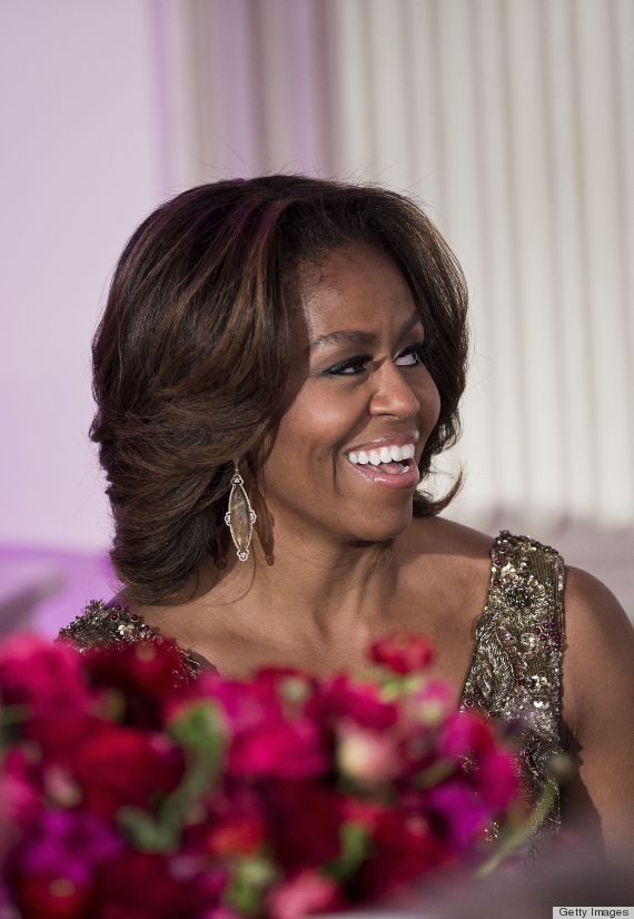Michelle Obama Eyebrows : michelle, obama, eyebrows, Michelle, Obama, Jumps, Aboard, Boyish, Brows, Bandwagon, HuffPost