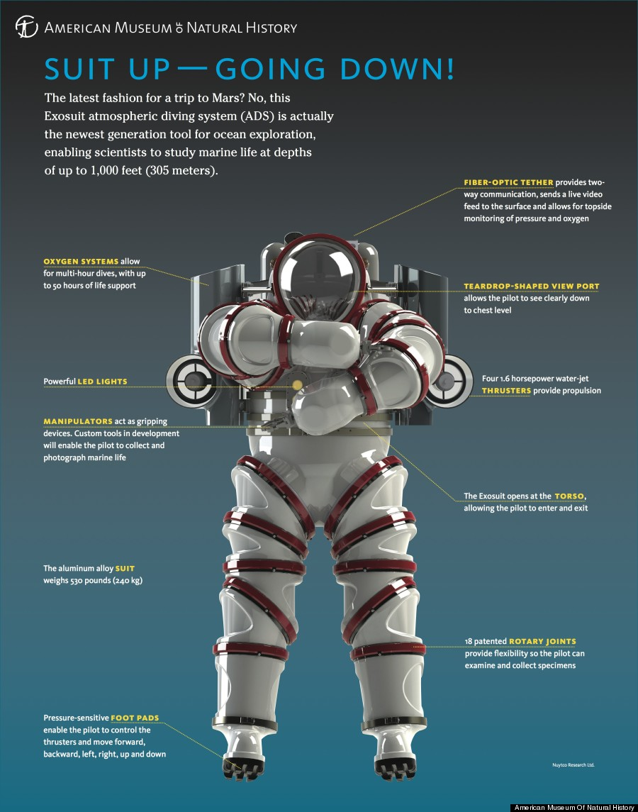 hight resolution of exosuit infographic