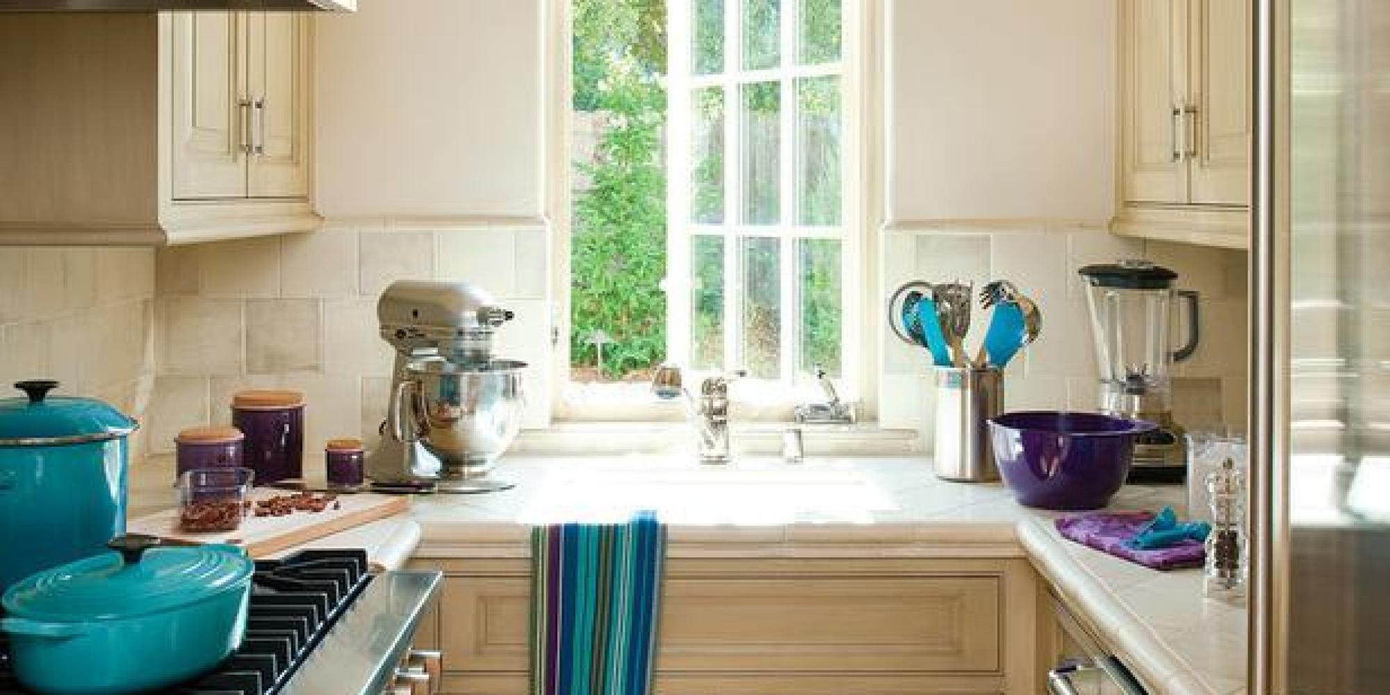 All The Small Kitchen Inspiration You Ever Needed HuffPost