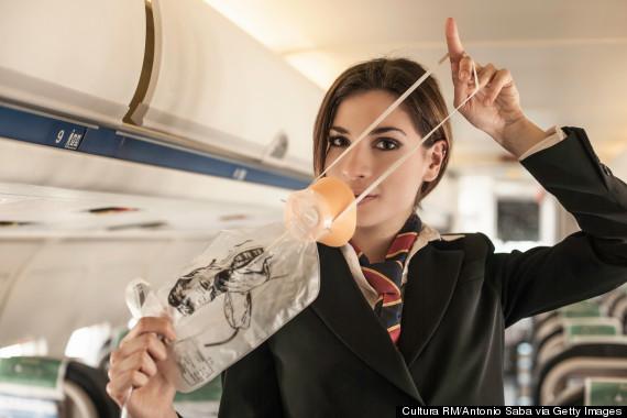 oxygen mask plane