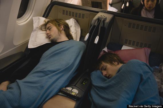 airplane pillow