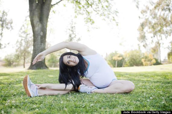 pregnant stretch