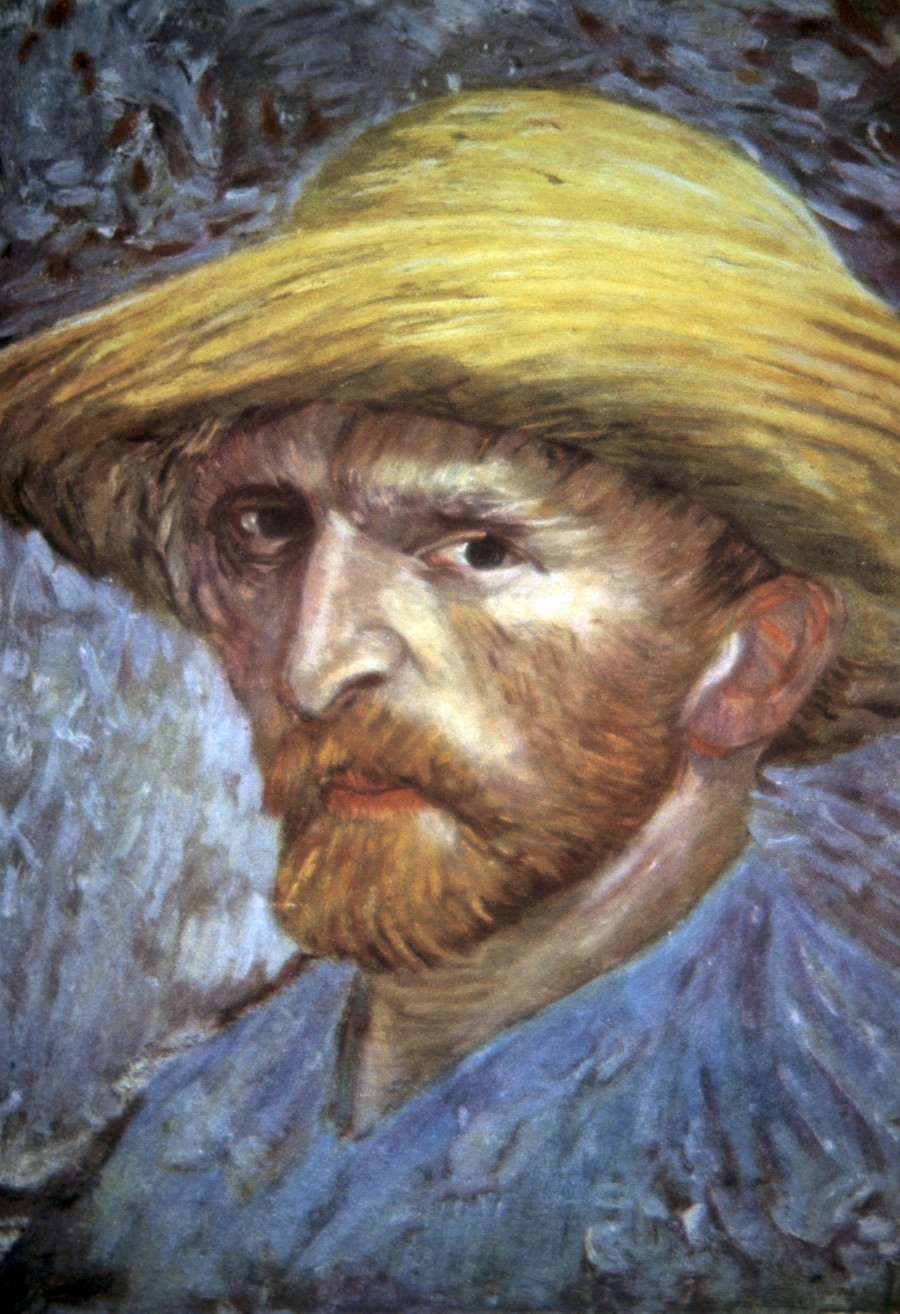 Vincent Van Gogh Self Portrait with Hat