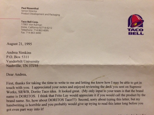 Ex Taco Bell Interns Claim They Invented The Doritos Taco