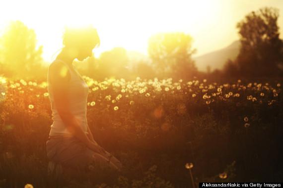 sun meditate