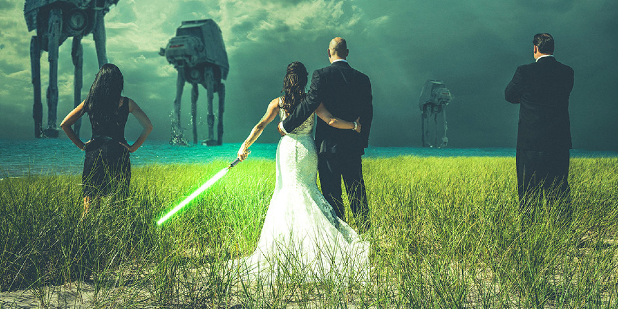 Everything You Need For A Star Wars Wedding Minus The Evil Sith Lord  HuffPost