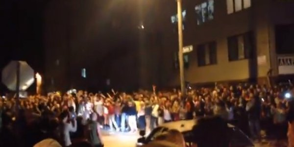 Iowa State University Students Riot Tuesday