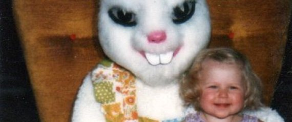 Gruselige Osterhasen versetzen Kinder in Angst und Schrecken