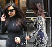 kim kardashian ditches hair