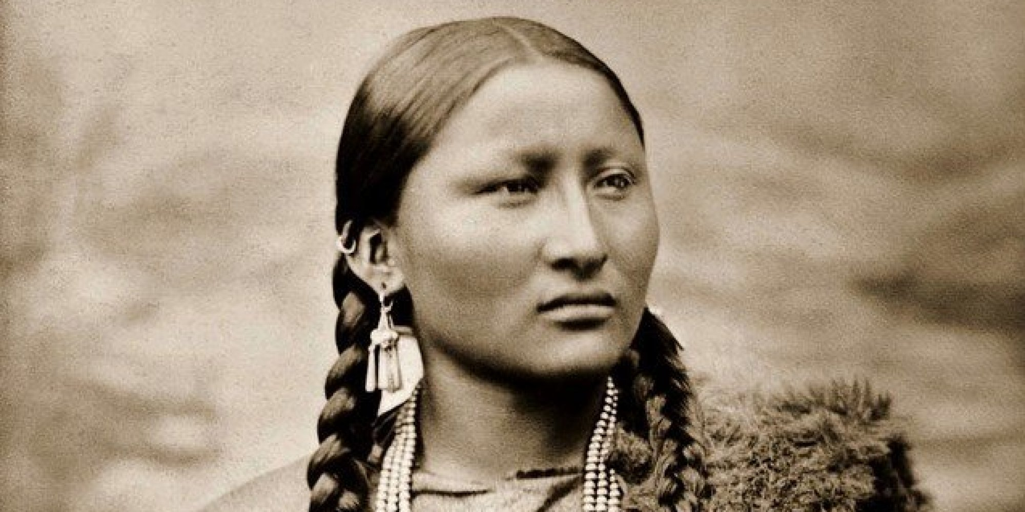 Rare Old Photos Of Native American Women And Children