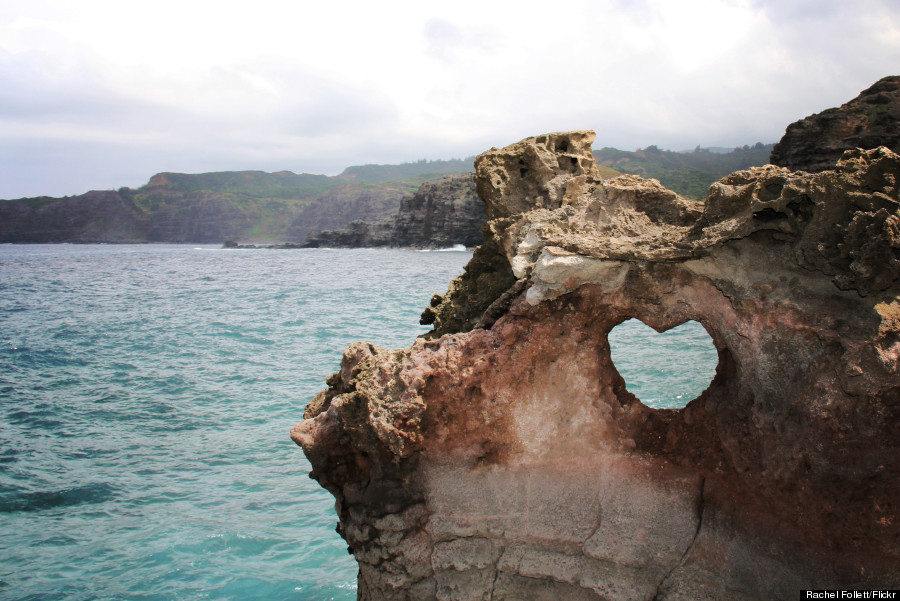 heart near nakahele blowhole